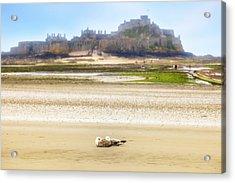 Jersey - Elizabeth Castle Acrylic Print by Joana Kruse