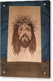 Jesus' Crucifixion Acrylic Print by N Gardner