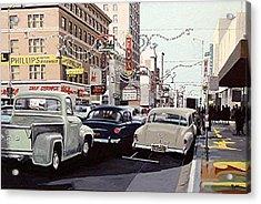 K Street Acrylic Print by Paul Guyer
