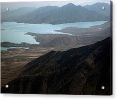 Kajaki Lake In Helmand Province Afghanistan Acrylic Print by Jetson Nguyen