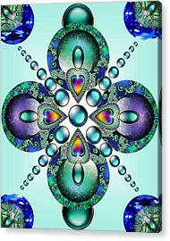 Kaleidoscope Acrylic Print by Ellen Henneke
