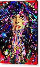 Katy Perry Acrylic Print