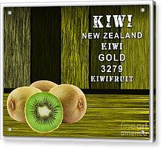 Kiwi Farm Acrylic Print by Marvin Blaine