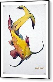 Koi Acrylic Print