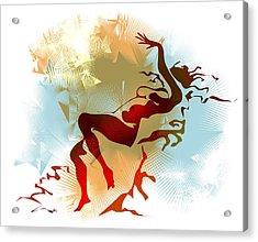 Leda Acrylic Print