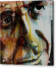 Leonard  Acrylic Print by Paul Lovering
