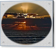 Let There Be Light Acrylic Print by Dennis Dugan