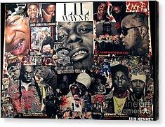 Lil Wayne The Last Hot Boy Acrylic Print by Isis Kenney