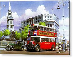 London Transport Stl Acrylic Print by Mike  Jeffries