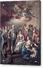 Lopez Y Porta�a, Vicente 1772-1850 Acrylic Print by Everett