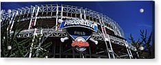 Low Angle View Of A Baseball Stadium Acrylic Print by Panoramic Images