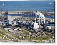 Maasvlakte, Europort, Rotterdam Acrylic Print by Bram van de Biezen