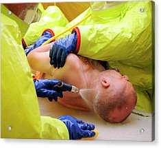 Major Emergency Decontamination Training Acrylic Print