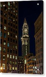 Marriott Custom House Tower Acrylic Print