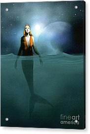 Mermaid Acrylic Print by Robert Foster