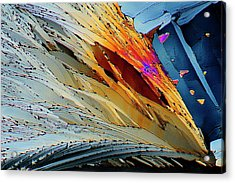 Metformin Drug Crystals Acrylic Print