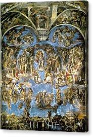 Michelangelo 1475-1564. Sistine Chapel Acrylic Print