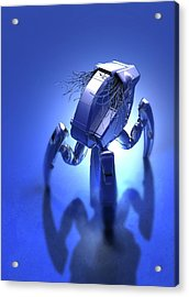 Microrobot Acrylic Print by Victor Habbick Visions/science Photo Library