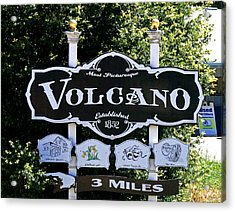 3 Miles To Volcano Acrylic Print by Joseph Coulombe