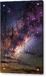 Milky Way Over The Atacama Desert Acrylic Print by Babak Tafreshi