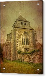 Minster Abbey Acrylic Print by Dave Godden