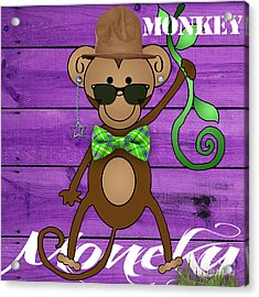 Monkey Business Collection Acrylic Print by Marvin Blaine