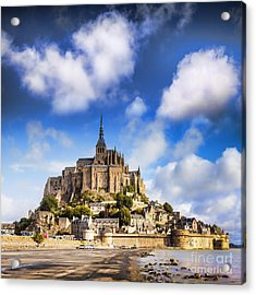 Mont St Michel Normandy France Acrylic Print