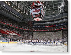Montreal Canadiens V Toronto Maple Leafs Acrylic Print by Claus Andersen