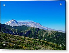 Mt St Helens Acrylic Print by Jeff Swan