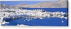 Mykonos, Cyclades, Greece Acrylic Print