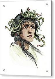 Mythology Medusa Acrylic Print