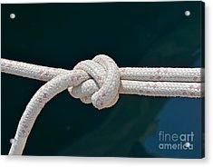 Nautical Knots Acrylic Print by George Atsametakis
