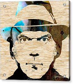 Neil Young Acrylic Print by Marvin Blaine