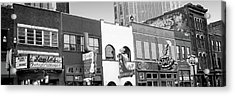 Neon Signs On Buildings, Nashville Acrylic Print by Panoramic Images
