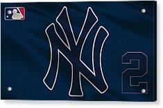 New York Yankees Derek Jeter Acrylic Print