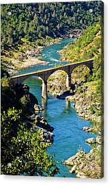 No Hands Bridge Acrylic Print