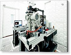 Noise-free Labs Acrylic Print by Ibm Research