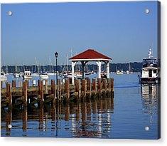 Northport Dock Acrylic Print