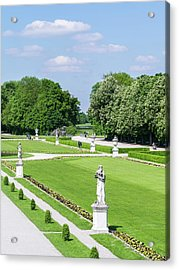 Nymphenburg Palace And Park In Munich Acrylic Print by Martin Zwick