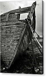 Old Abandoned Ship Acrylic Print
