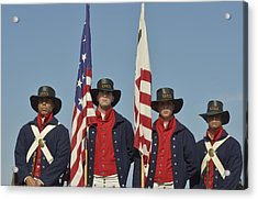 Honor Guard  Acrylic Print by Marianne Campolongo
