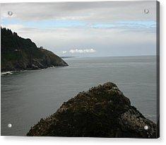 Oregon Coastline Acrylic Print by Yvette Pichette