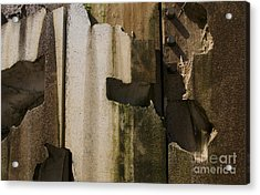 Acrylic Print featuring the photograph 3 Pegs Abstract IIi by Sherry Davis