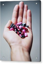 Pills Acrylic Print by Cristina Pedrazzini/science Photo Library