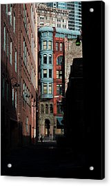 Pioneer Square Alleyway Acrylic Print