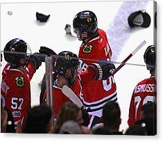 Pittsburgh Penguins V Chicago Blackhawks Acrylic Print by Jonathan Daniel