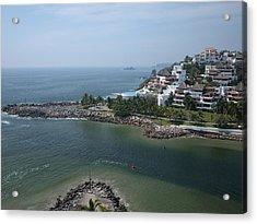 Playa El Palmar, Ixtapa Acrylic Print