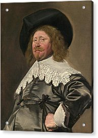 Portrait Of A Man Acrylic Print by Frans Hals