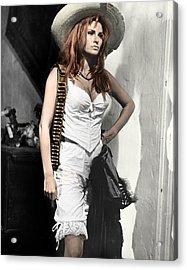 Raquel Welch Acrylic Print