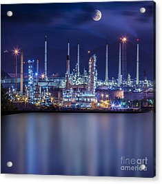 Refinery Industrial Plant  Acrylic Print
